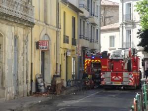 Incendie à Montpellier