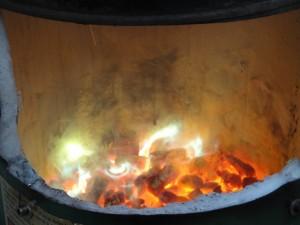 Le chauffe eau à bois