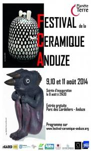 Affiche Anduze 2014