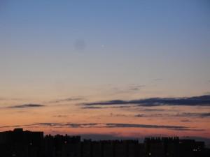 Lever de soleil sur Montpellier le 2016 02 16