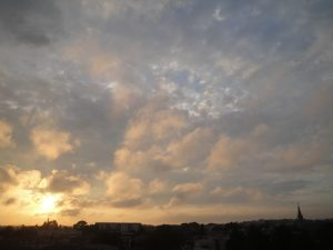 Coucher de soleil du 18 mai 2016