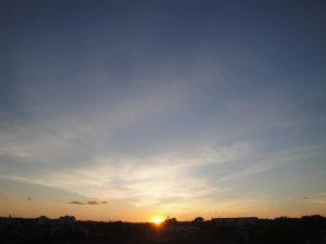 Coucher de soleil du 3 mai 2016