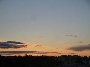 Lever de soleil le 30 mai 2016