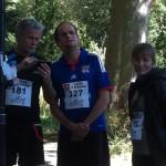 Franck Dubosc, Lionel Abelanski et Sophie Duez