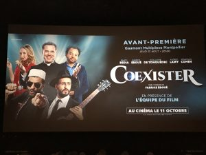 Avant première de Coexister à Montpellier