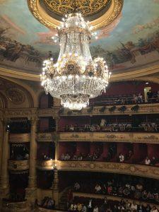 Lustre de l'opéra comédie